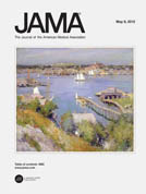 JAMA - current issue cover