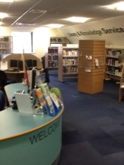 New library layout